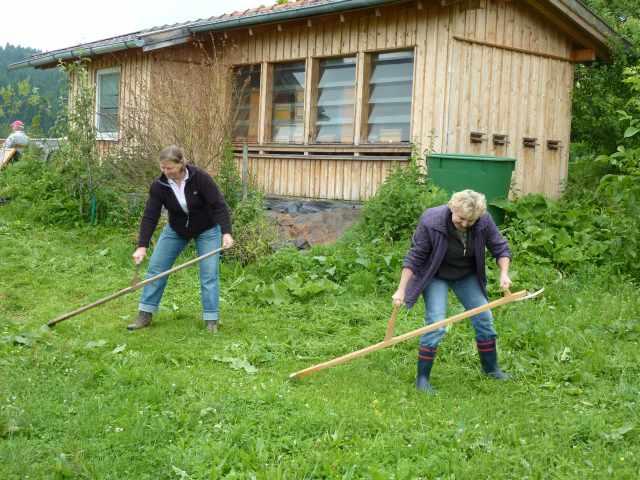 Sensenkurs aufkirchen kreisverband f r gartenbau und landespflege starnberg - Gartenbau starnberg ...